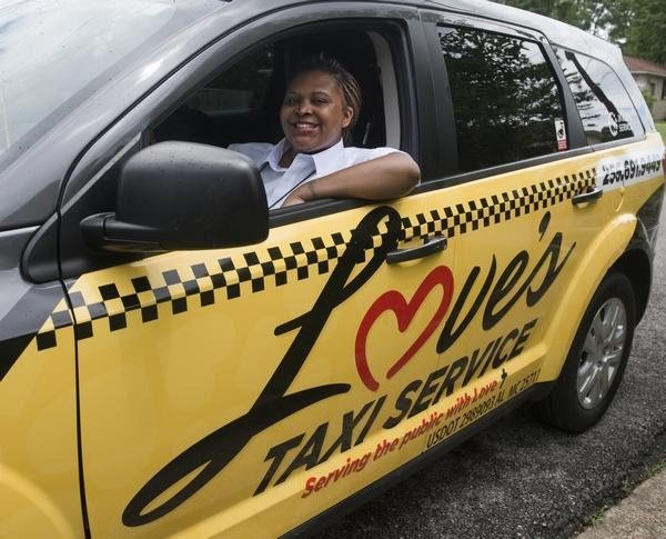 Tayla Cox - Owner of Loves Taxi